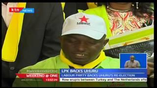 Ababu's Labour Party backs Uhuru Kenyatta's re-eleclion bid