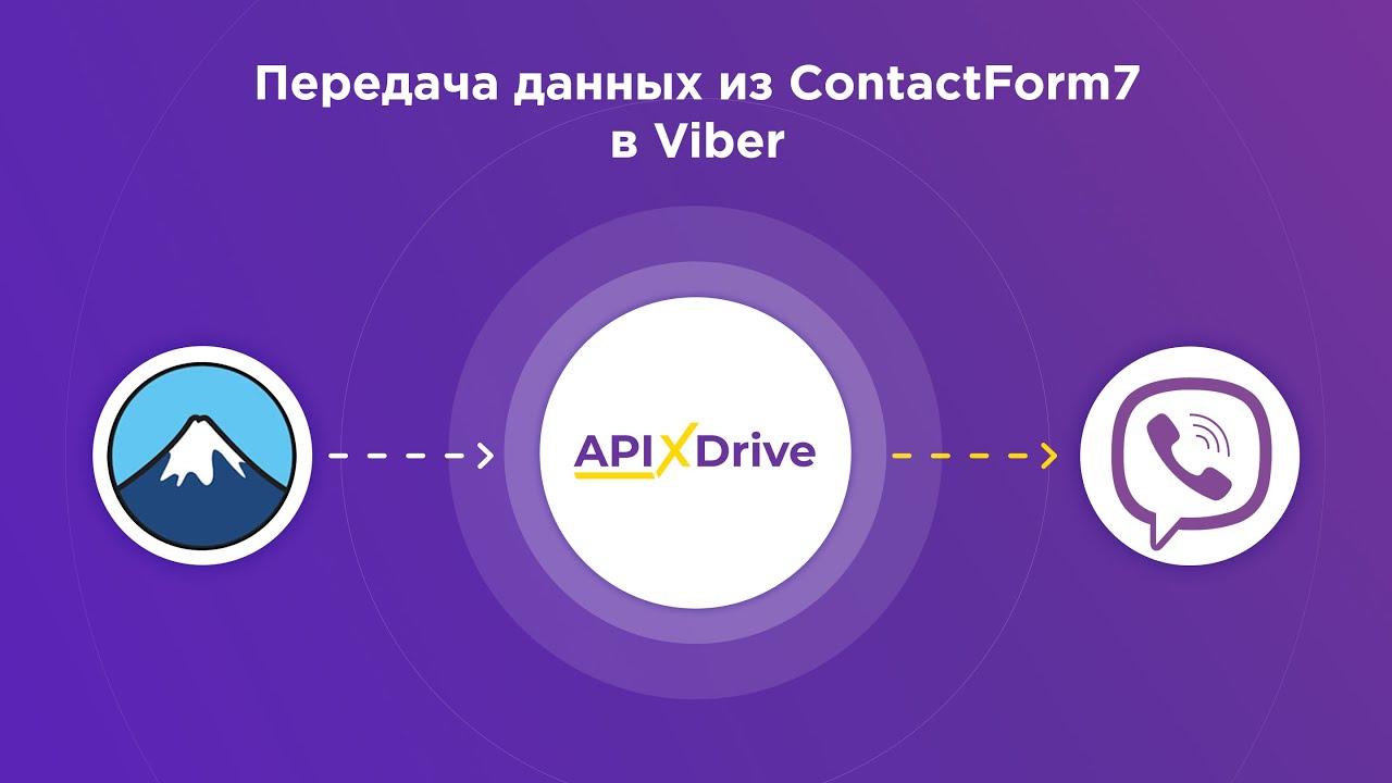 Как настроить выгрузку данных из ContactForm7 в виде уведомлений Viber?