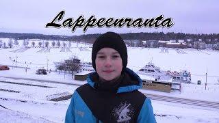 Lappeenranta. Finland 4K. Лаппеенранта зимой. Radodar TV. 15.01.17