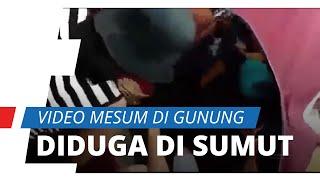 Diduga Terjadi di Gunung Sumatera Utara, Video Viral Pasangan Mesum Ditarik Selimutnya secara Paksa