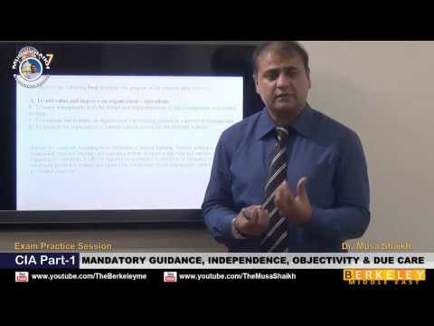 CIA Part-1 (Exam Practice) Mandatory Guidance Independence ...