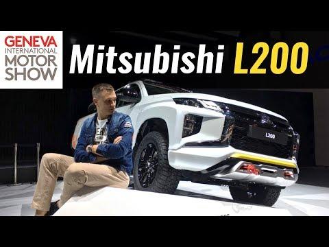Mitsubishi  L200 Пикап класса J - тест-драйв 1