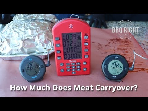 Meat Carryover Experiment | How Much Does Meat Carry Over?