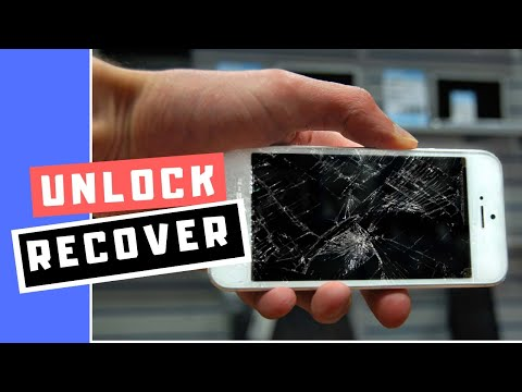 How to unlock an Android phone with a broken touch screen