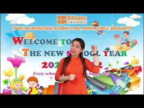 Trường Mầm non Thăng Long hân hoan chào năm học mới 2021-2022