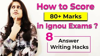 How to prepare for IGNOU exams? TOP 8 Tips & Tricks for answer writing & preparation for IGNOU exams - ANSWER