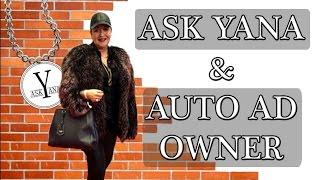 ASK YANA - Yana with Lior, Auto Ad Owner, Toronto
