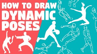 How To DRAW DYNAMIC POSES EASY | Drawing Tutorial For Beginners