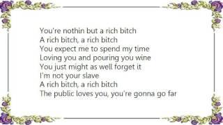 D.O.A. - Rich Bitch Lyrics