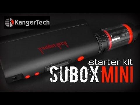 Набор: боксмод Kanger Subox Mini 50W (вариватт) - видео 3