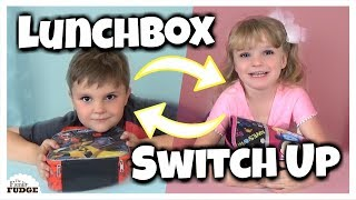 Lunchbox Switch Up Challenge! | Bunches Of Lunches | Kholo.pk
