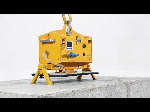 Vakuum Block Heber 380kg