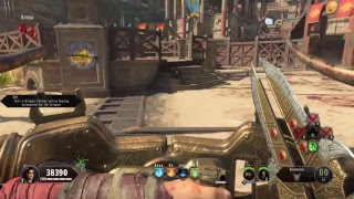Black ops 4 Zombies Nine solo gameplay on IX round 50 attempt