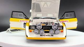 AUTOart Audi Sport Quattro S1 Rally - Monte Carlo 1986