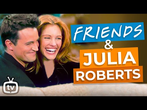 Learn English with Julia Roberts On Friends