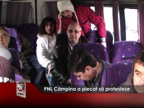 PNL Câmpina a plecat să protesteze