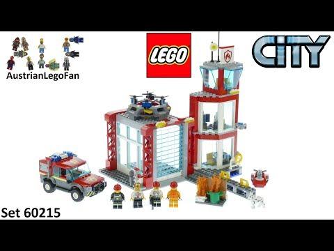 Vidéo LEGO City 60215 : La caserne de pompiers