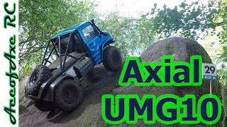Scx10 2 Unimog portal axles 2nd Part with Toyzuki v2 and