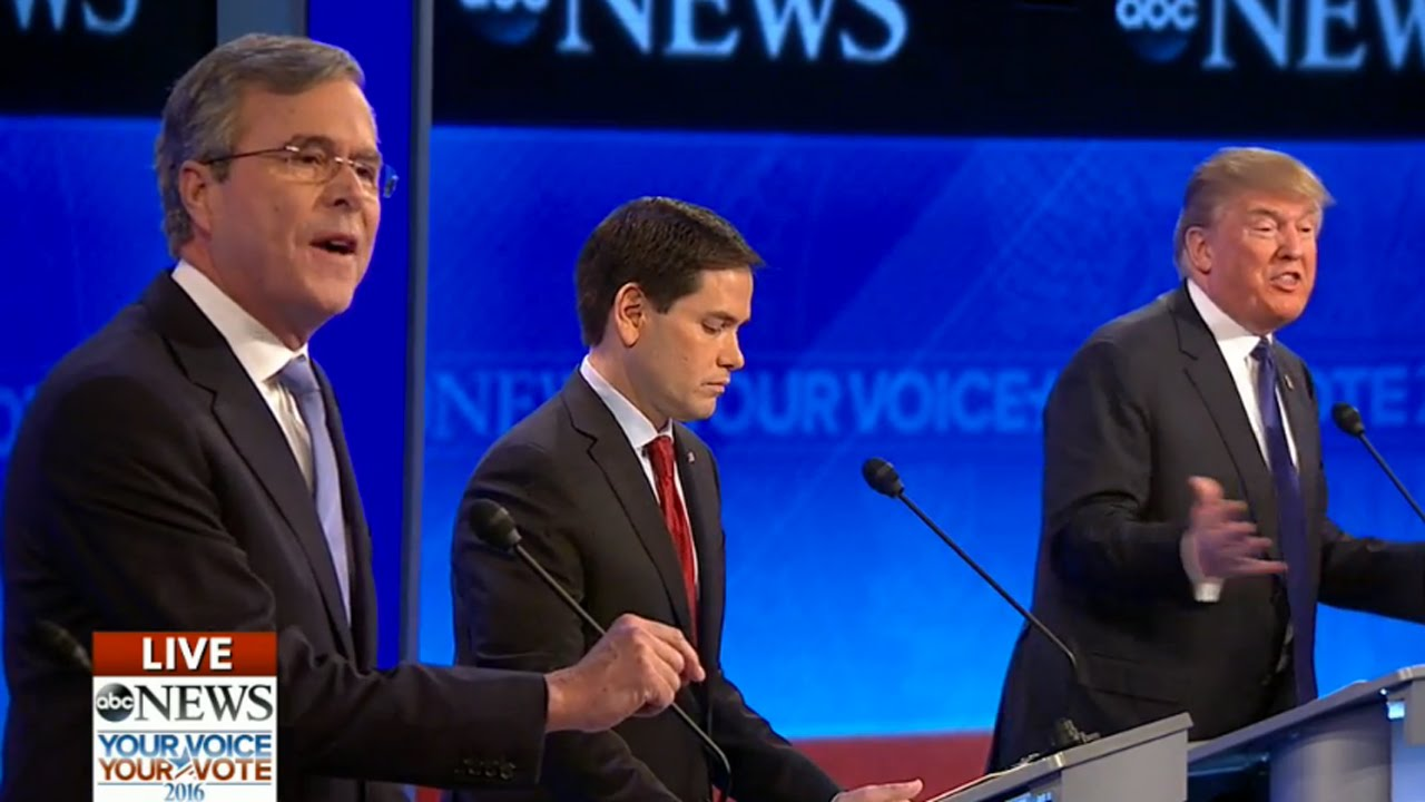 ABC News Republican Presidential Debate: The Worst Line thumbnail