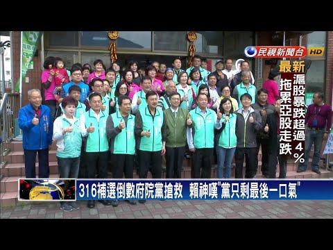 台南.三重苦戰 賴清德:民進黨只剩最後一口氣-民視新聞