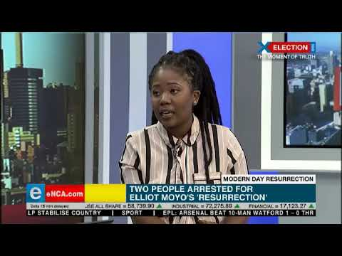 """Two people arrested for Elliot Moyo's """"Resurrection"""""""