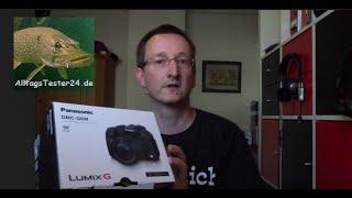 Unboxing Panasonic Lumix DMC-G6: Der Grundstein ist gelegt!