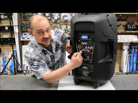 expert island Review of the Acoustic Audio 87 4315T Powered Speaker
