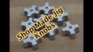 Making Jig Knobs