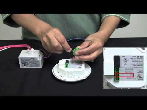Wattstopper: How to: Wiring a DT-305 Dual Technology Ceiling Sensor