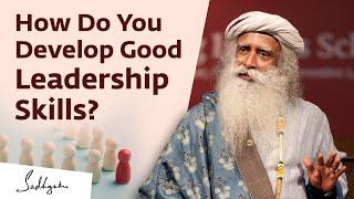 What Are The Qualities of A Good Leader? - Vinita Bali with Sadhguru