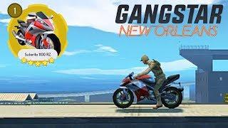 GANGSTAR NEW ORLEANS - SUTORITO 1100 RZ ( BEST 5 STAR BIKE )