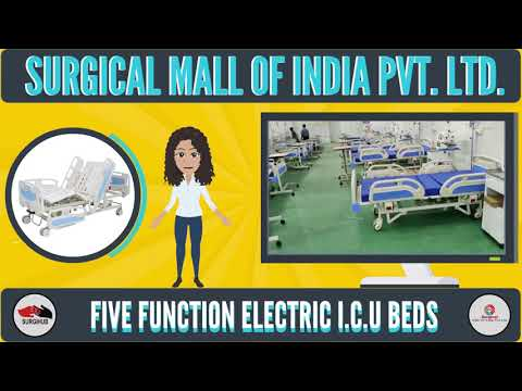 Five Functional Electrical ICU Bed