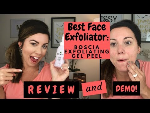 Best Face Exfoliator: Boscia Exfoliating Gel Peel Demo & Review!
