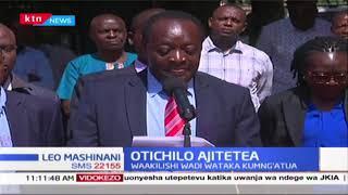 Waakilishi Wadi wataka kumng'atua Wilber Ottichilo kutokana na malimbikizi ya madeni