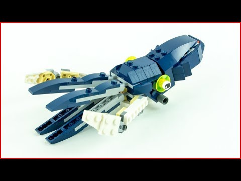 LEGO CREATOR 31088 Deep Sea Creatures - Squid Construction Toy UNBOXING