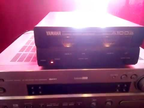Yamaha A100a  VS  Yamaha RX-V630RDS