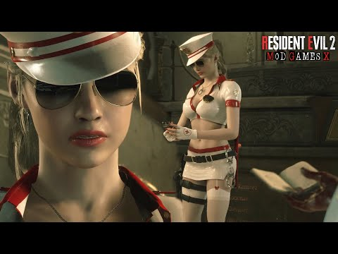 Claire Bad Cop Sexy - Resident Evil 2 RE Mod