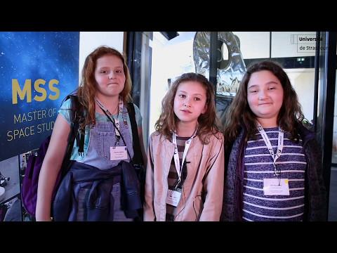 Congrès scientifique des enfants à l'ISU