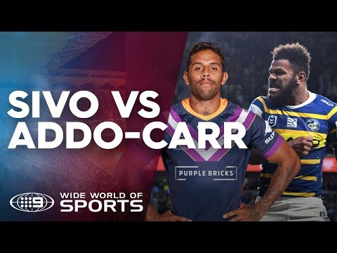 Maika Sivo vs Josh Addo-Carr Tries On 2019 | NRL on Nine