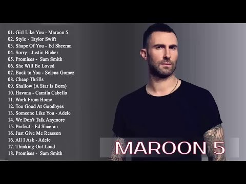 Pop 2019 Hits | Maroon 5, Taylor Swift, Ed Sheeran, Adele, Shawn Mendes, Charlie Puth - LIVE 24/7
