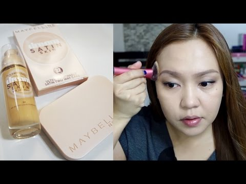 Maybelline Dream Satin Two Way Cake Review Philippines