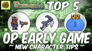 Terraria 1.3 Top 5 Overpowered New Character Tips | 1.3 Weapons | Items | Armor | Glitches