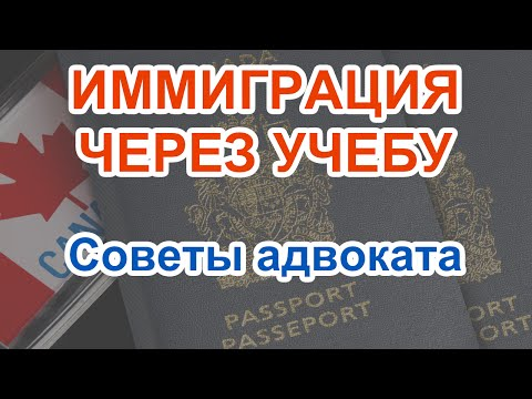 Иммиграция через учебу Советы адвоката