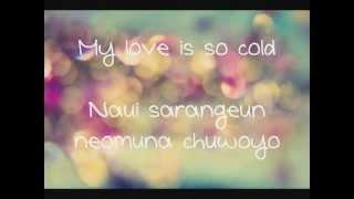 (Secret) Song Ji Eun- It's Cold [Eng+Rom+DL] Lyrics