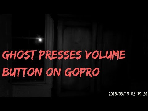 Ghost Touches Gopro At Belle Grove Plantation