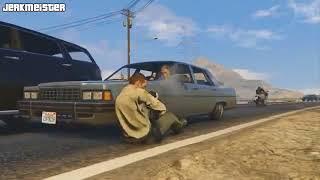 GTA 5 полицейский сошел с ума • police •