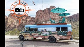 The Ultimate DIY Adventure Bus Tiny House ~ Built With Materials From Craigslist