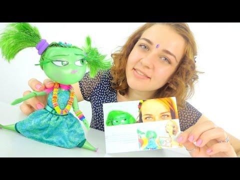Видео для девочек. Брезгливость собирается на праздник.