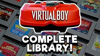 COMPLETE Virtual Boy Library! Every game released in the US!   Nintendrew