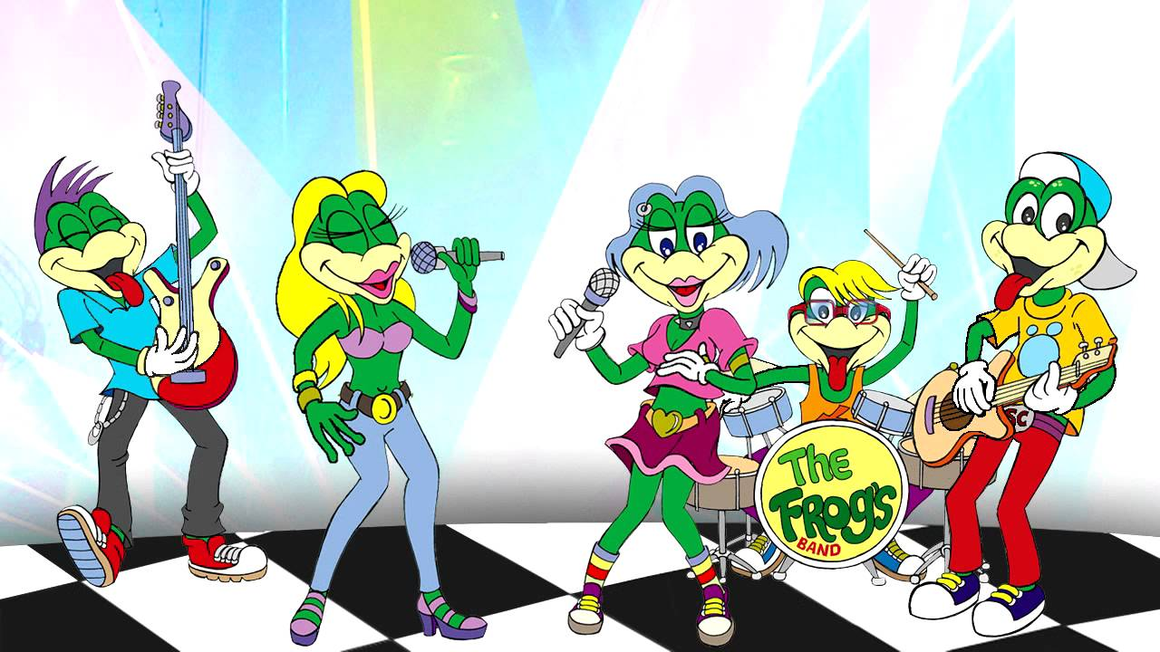 O ROCK DO SAPO CURURU , O ROCK DA TURMA - Clip Infantil